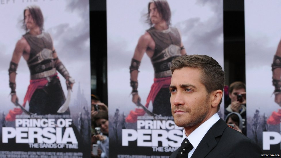 Jake Gyllenhal at the Prince of Persia premiere