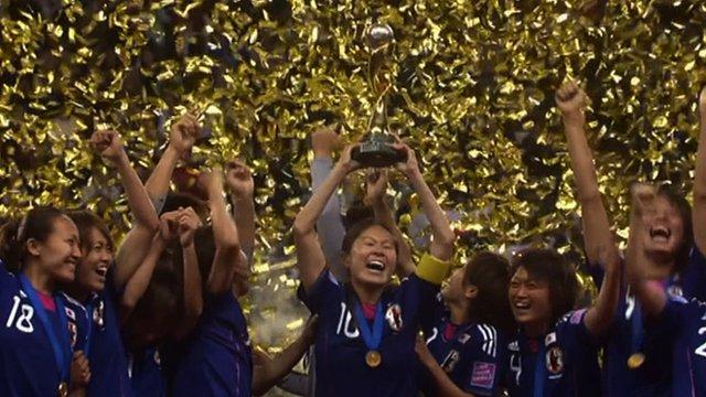 Japan win women's World Cup 2011