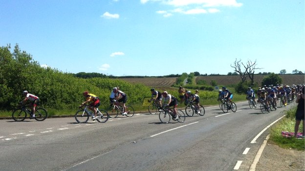Tour of Cambridgeshire at Woodwalton