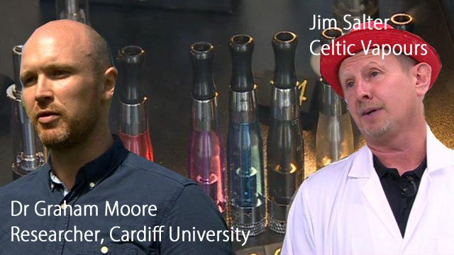 Dr Graham Moore and Jim Salter