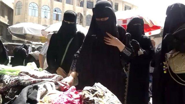 Women in Mosul, Iraq