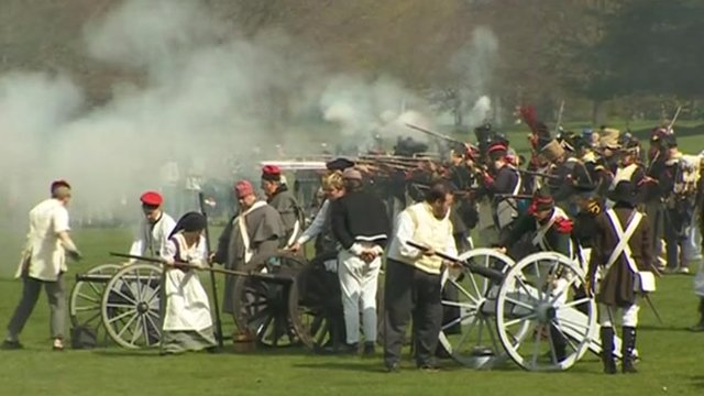 The 200th anniversary of the Battle of Waterloo will be marked by re-enactments and ceremonies
