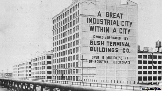 Industry City view from 1940s