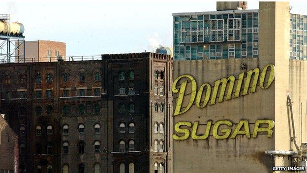 Domino sugar in Brooklyn
