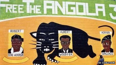 'Free the Angola 3' mural