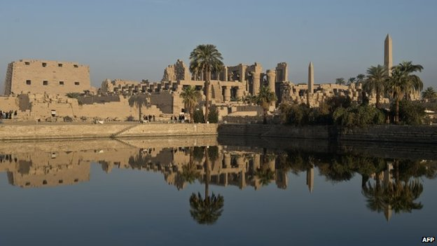Temple of Karnak complex in Luxor, Egypt (file)