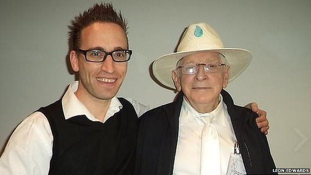 Leon Edwards and Jim Humble