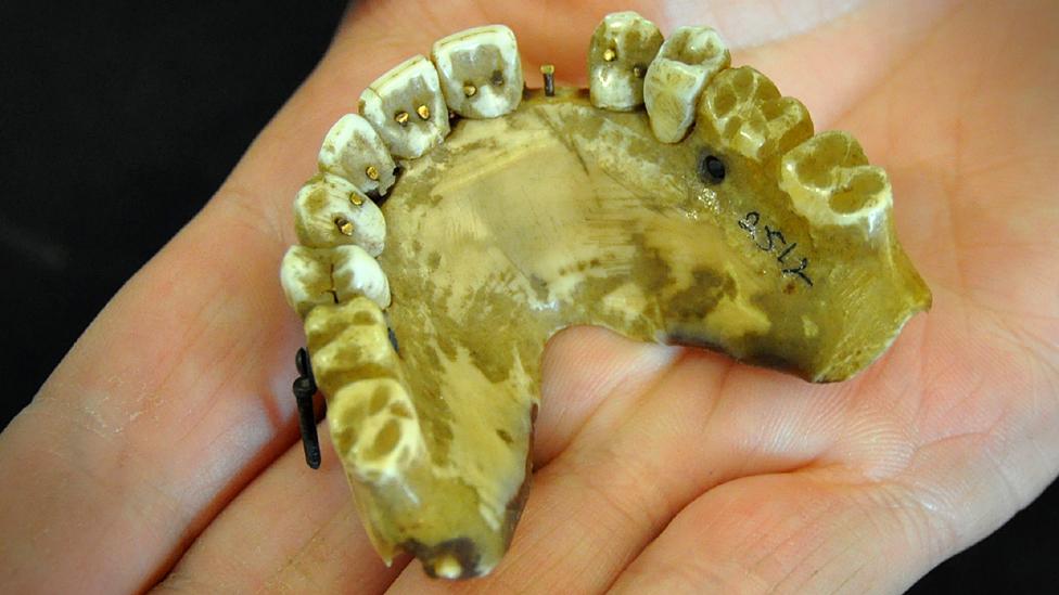 19th Century denture