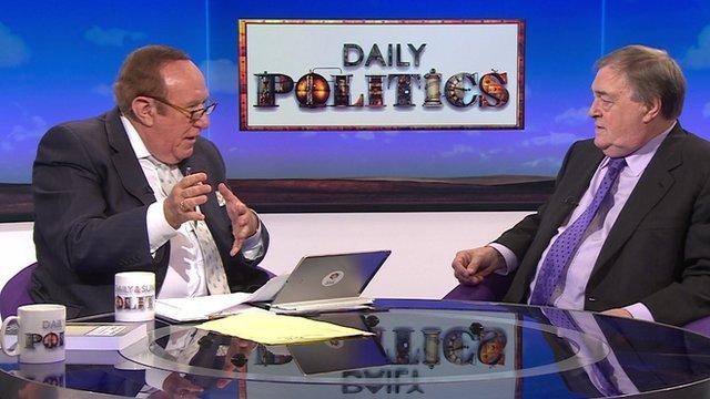 Andrew Neil and John Prescott on Daily Politics