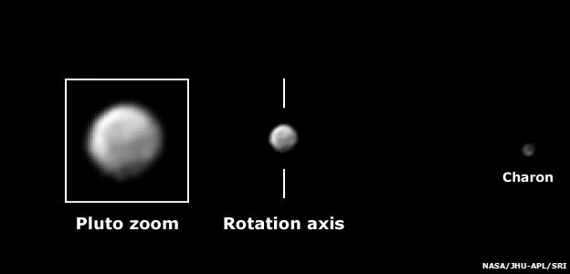 Pluto and Charon on 28 May