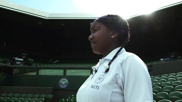 Profile of Jordyne at Wimbledon