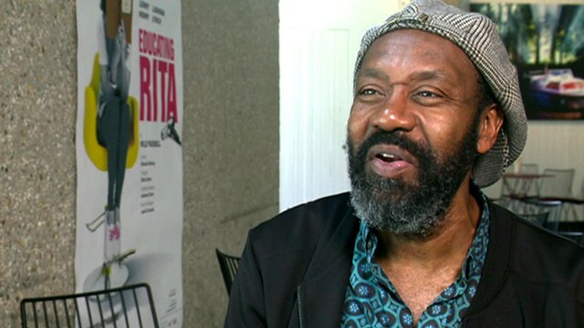 Comedian and actor Lenny Henry