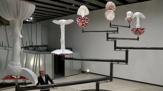 Carsten Holler installation