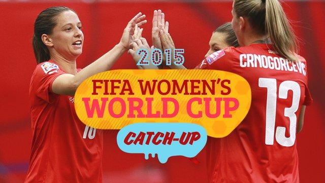 Women's World Cup Catch-Up: Swiss roll over Ecuador & Bassett's black eye