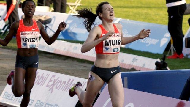 Laura Muir of Great Britain