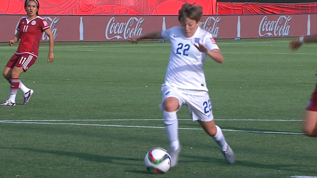 Fran Kirby gives England lead