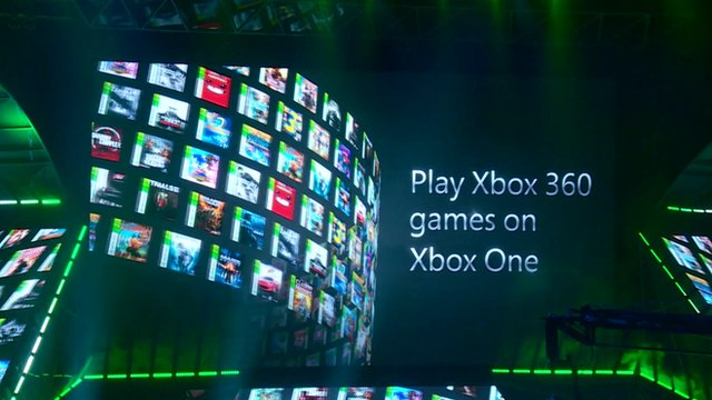 Still from Xbox press conference