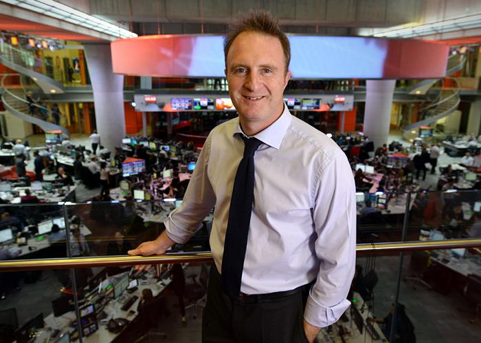 BBC News and Current Affairs director James Harding
