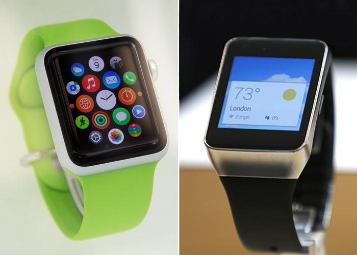 Evolving technology - smartwatches from Apple and Samsung