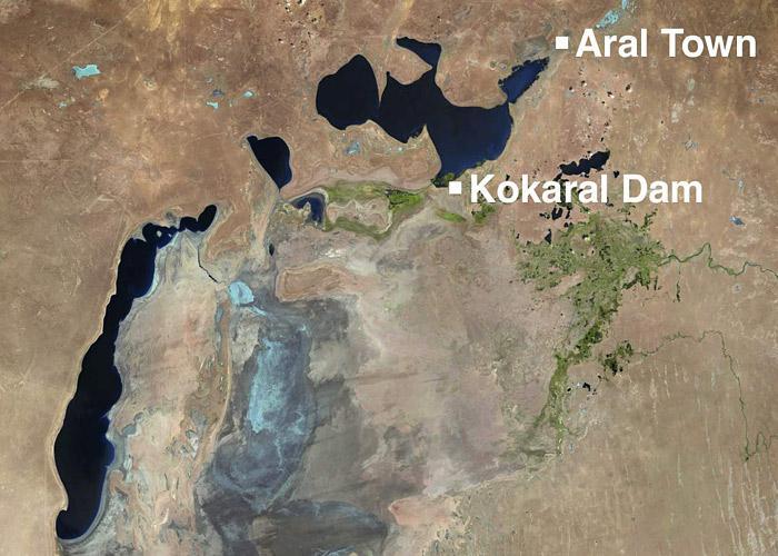 Aral Sea region