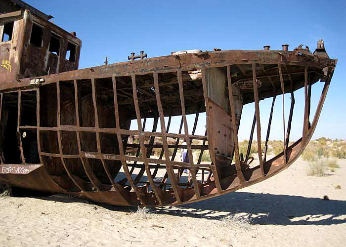 Uzbekistan wreck