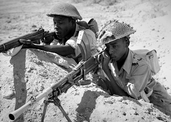 Caribbean Regiment during World War Two