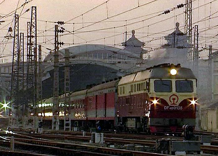 Beijing railway, 2007