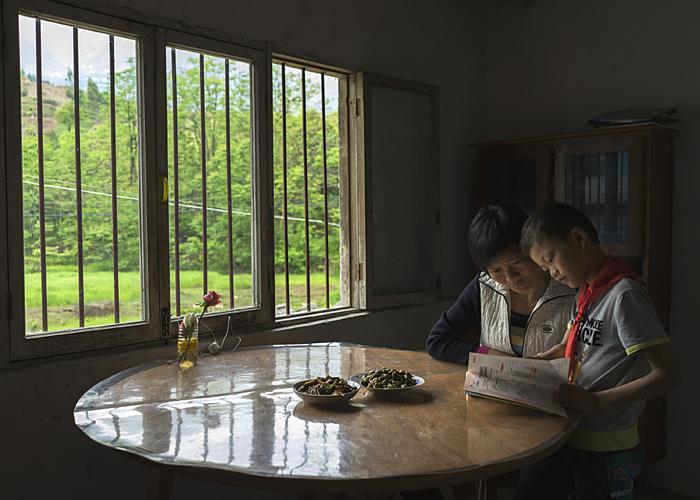 Xiao Zhang with Peipei, 2015
