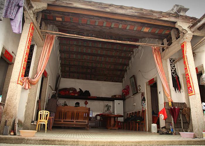 Cai Jingsong's home
