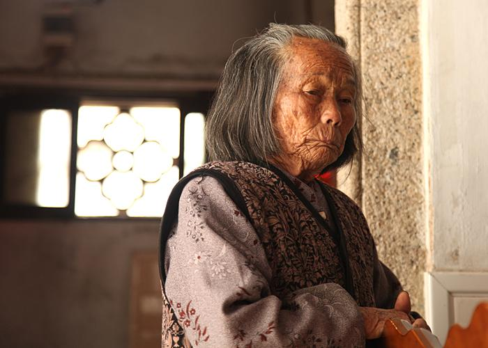Cai Jingsong's mother