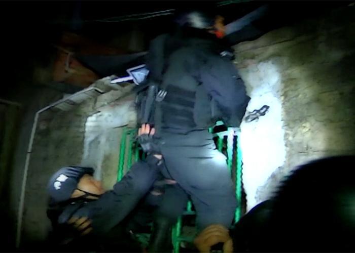 Police raid in Boshe