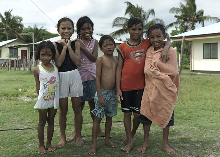 Children living on Pagasa