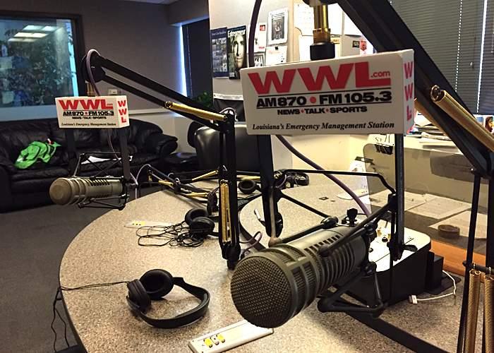 WWL studio in 2015