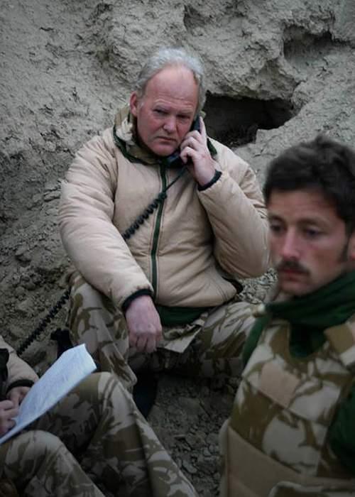 Maj Gen Andrew Mackay at Roshan Hill