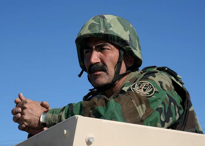 Afghan commander Muhaiyodin Ghori