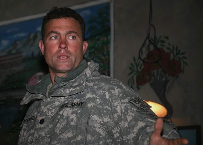 US Army Lt Col Brian Mennes