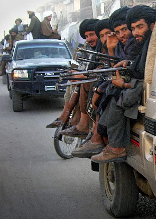Taliban in Musa Qala, November 2007