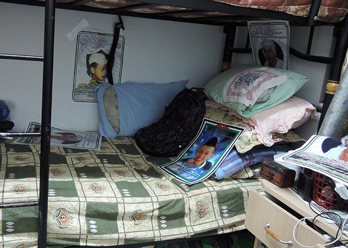 Mohammed Abu Khdeir's bedroom