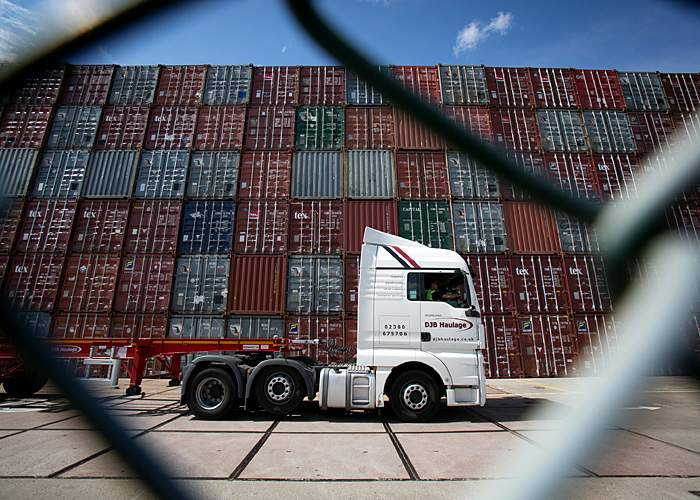 Southampton Container Terminal(Getty Images)