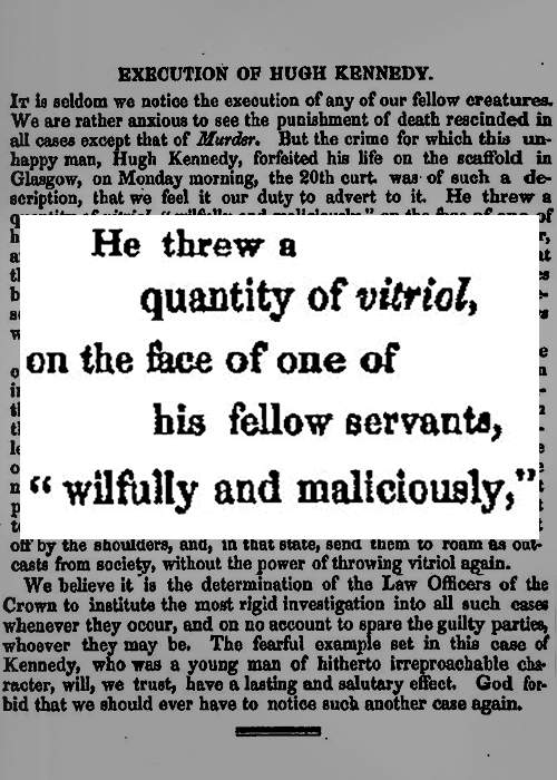 Extract from Reformers' Gazette, 1834