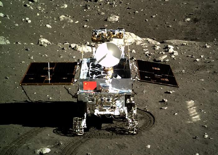 China's lunar Yutu rover