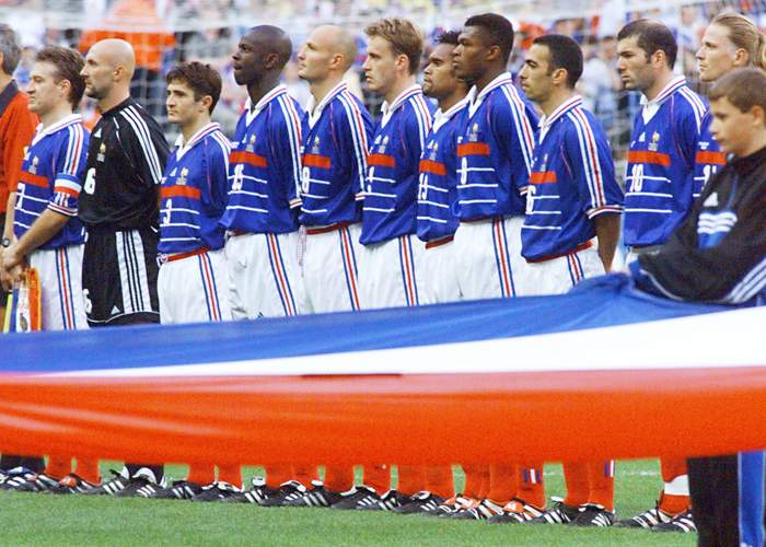 Prior to 1998, France's best World Cup performance was third place, which they achieved in 1958 and 1986