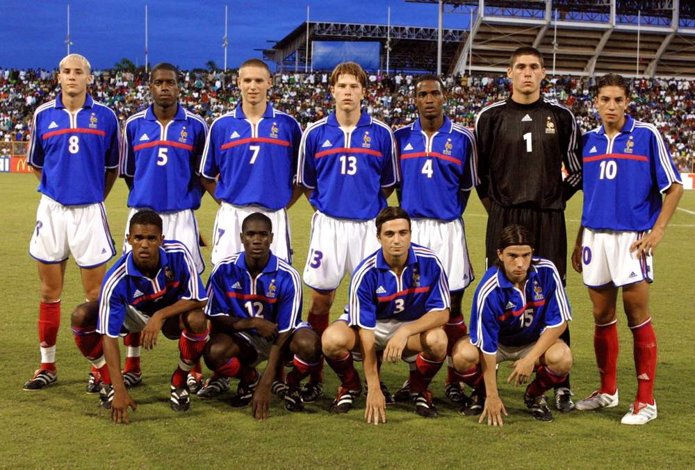 France's Under-17 side continued the nation's international success in the late 1990s and early 2000s by winning the 2001 World Cup in Trinidad and Tobago