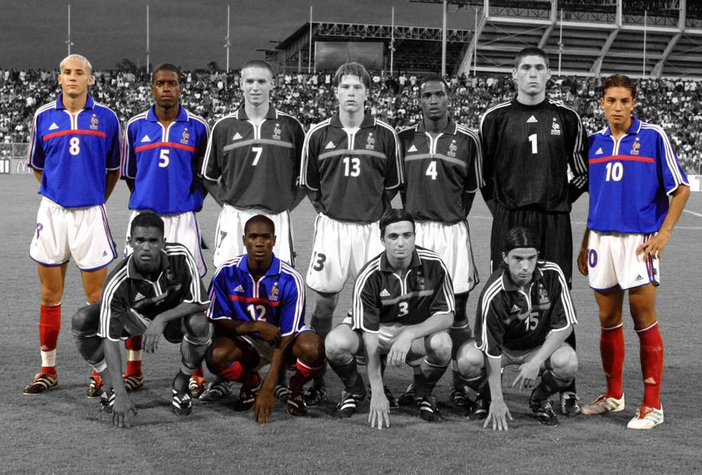Four members of that U17 side from 2001 would go on to represent African nations: Hassan Yebda (Algeria, 8), Jacques Faty (Senegal, 5), Mourad Meghni (Algeria, 10) and Emerse Fae (Ivory Coast, 12)