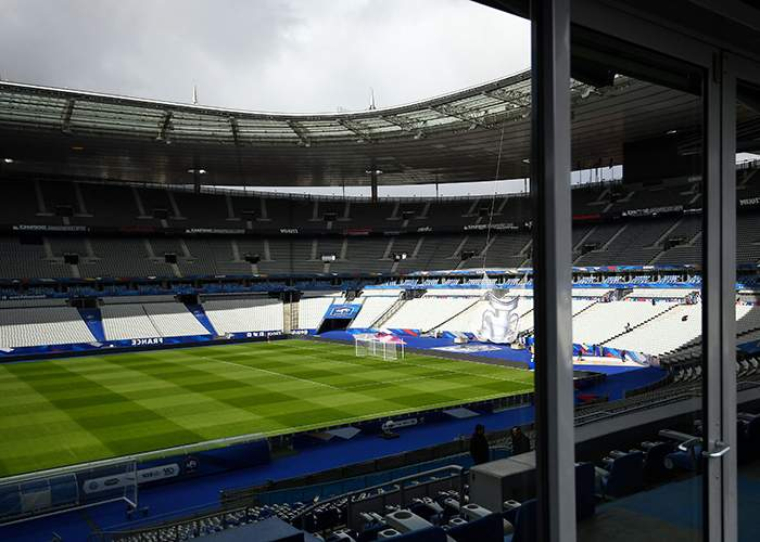 View from inside the Stade de France