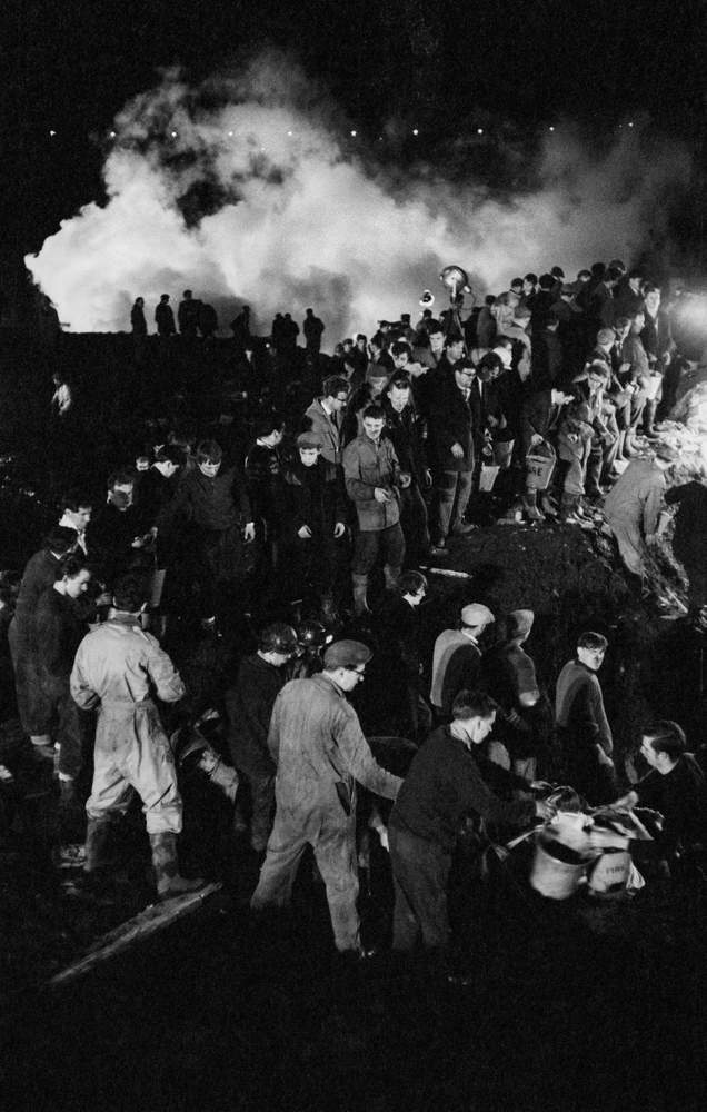 """No one who endured this night would ever forget it – the phantasmagoria of coal dust and smoke."" - Jim Hicks, London bureau chief of Life magazine"