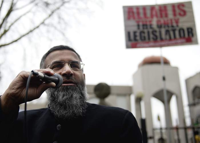 Anjem Choudary, jailed for inviting others to support IS