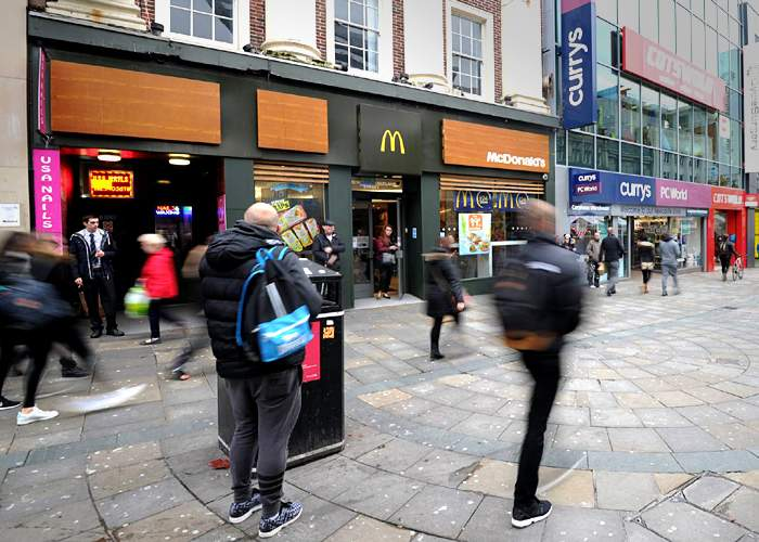 McDonald's on Northumberland Street