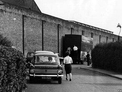 Scene of Ronnie Biggs' escape in 1965