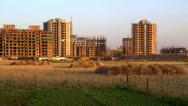 New housing, Basai village